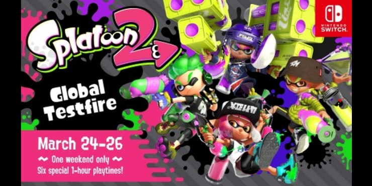 Nintendo Schedules Splatoon 2 Event in Late March