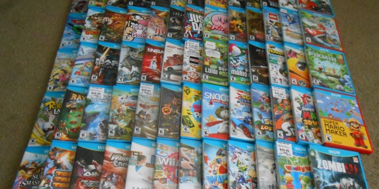 Just how realistic is a complete collection of Wii U physical releases, anyway?