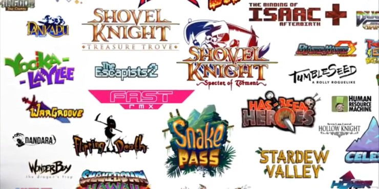 Nintendo Reveals Partial Lineup of Indie Games Releasing for the Switch in 2017