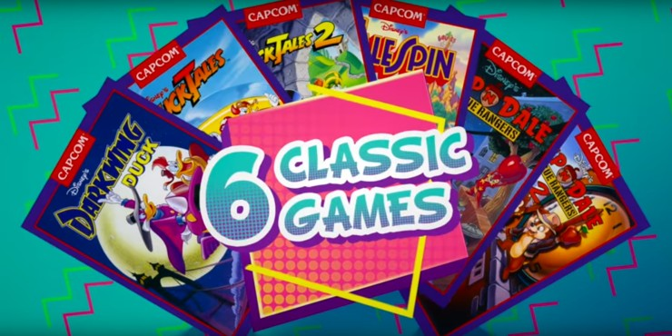 Capcom Brings Back 6 Amazing NES Classics in Disney Afternoon Collection