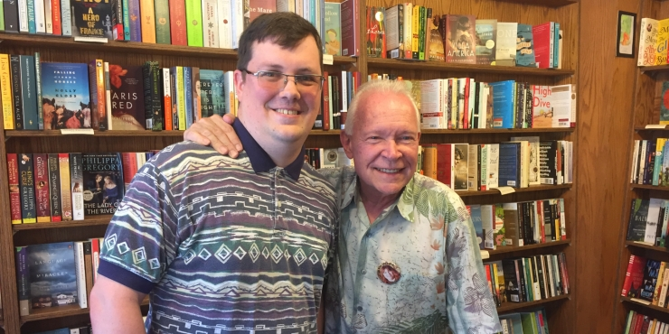 I Got to Meet Terry Brooks at a Book Signing