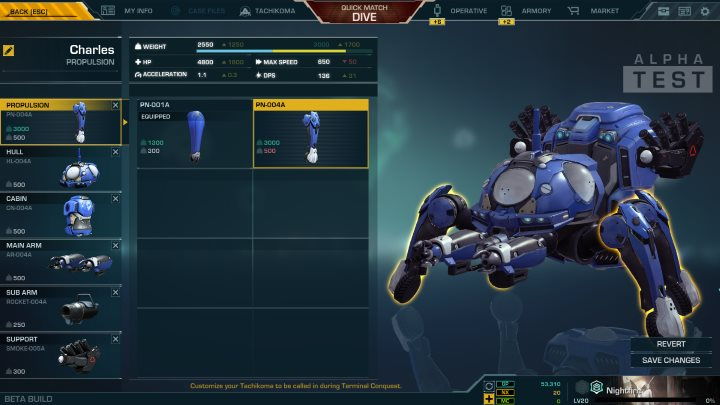 Tachikoma Customization