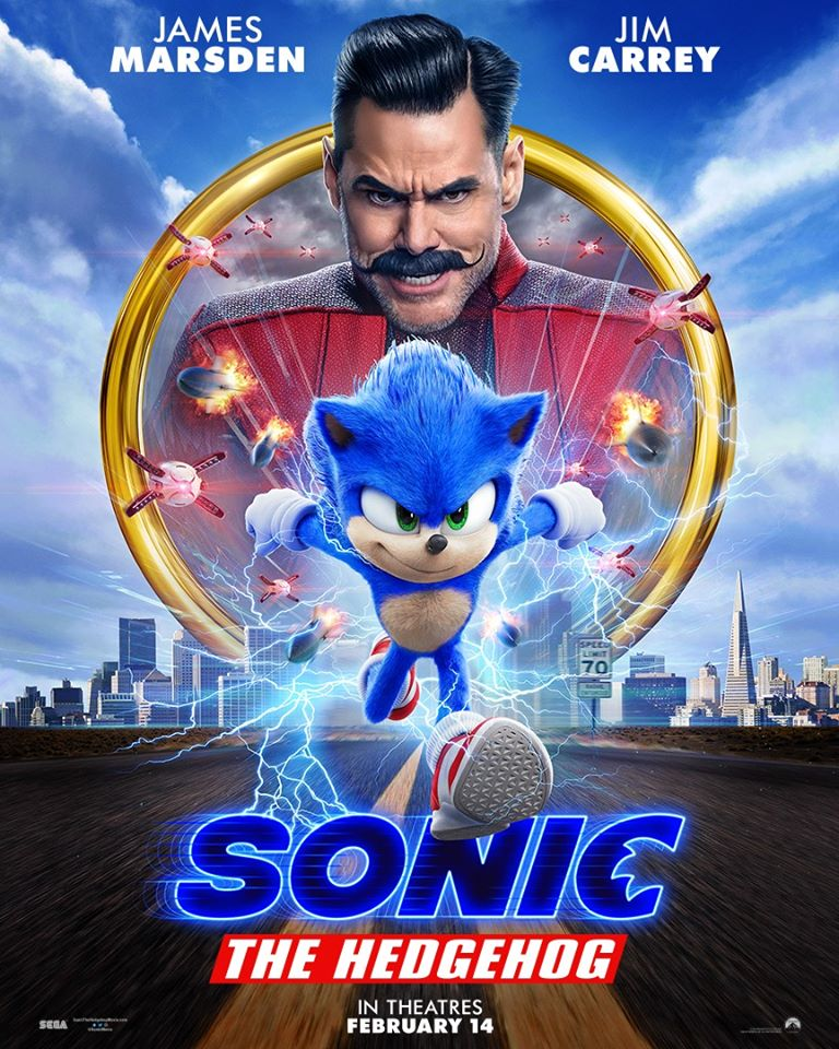 The new Sonic Movie trailer hit the internet today