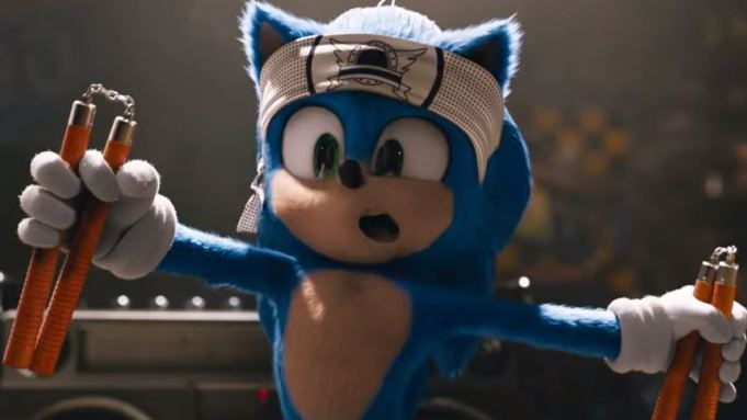 Sonic booms through opening weekend earning over 70 Million.