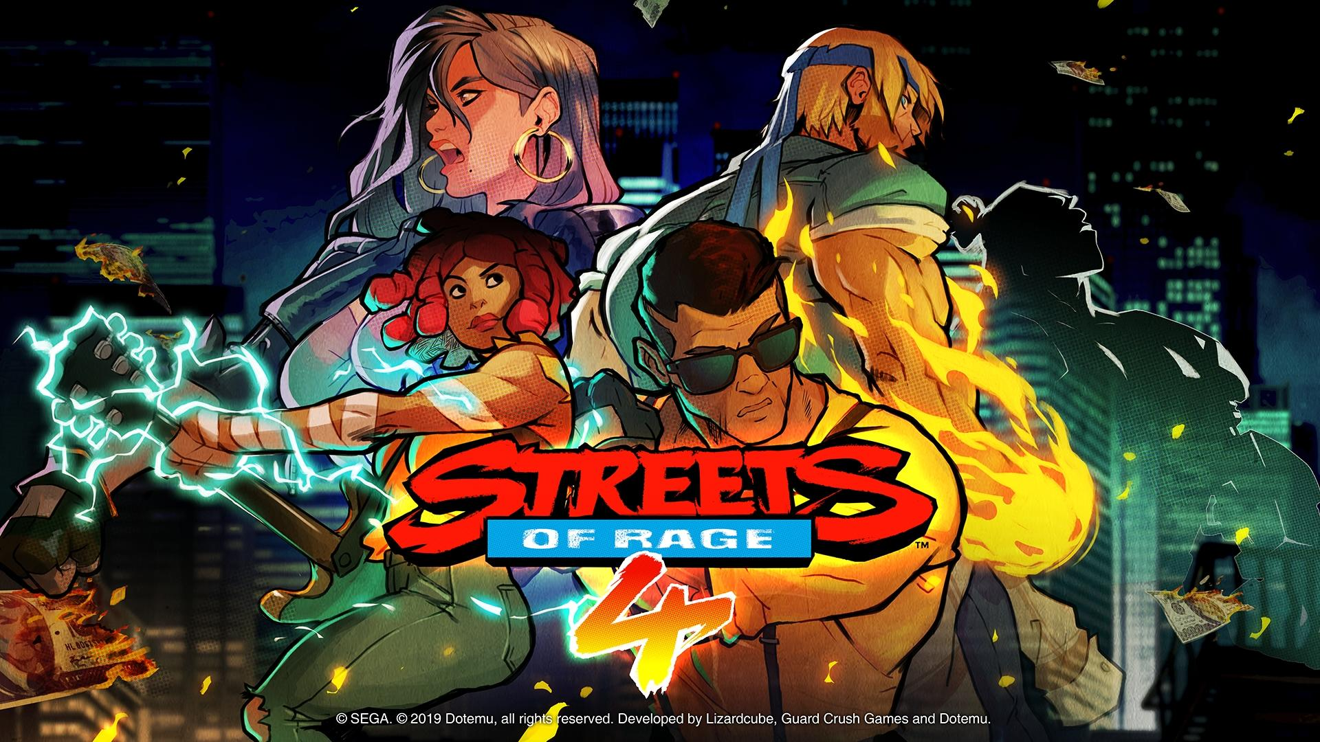 Views on Streets of Rage 4