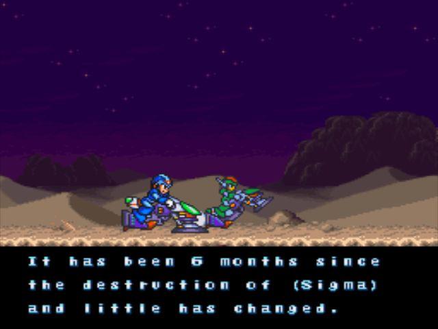 Mega Man X2 screenshot - Basics