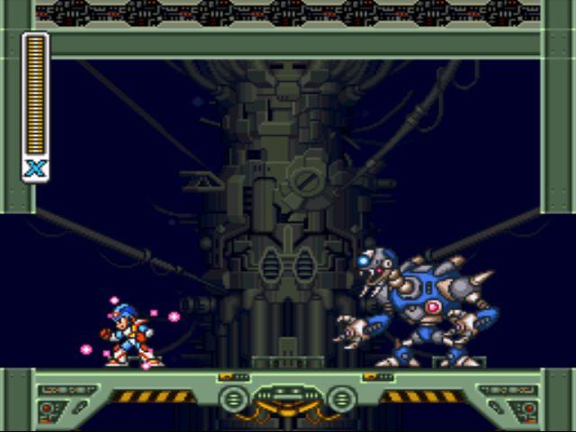 Mega Man X2 screenshot - Magna Centipede