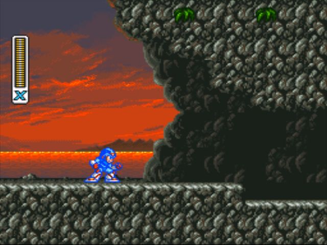 Mega Man X2 screenshot - Bubble Crab