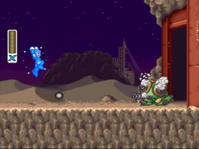 Mega Man X2 screenshot - Intro Stage