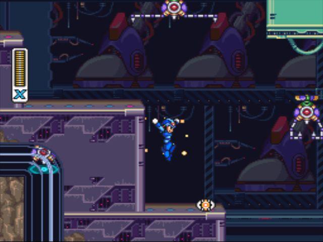 Mega Man X2 screenshot - Intro Stage