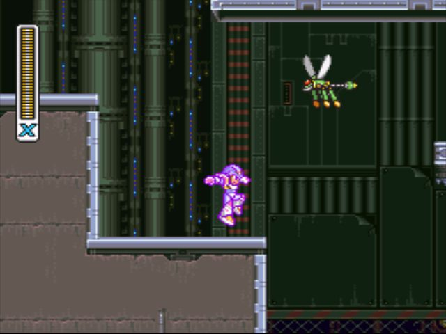 Mega Man X2 screenshot - Morph Moth