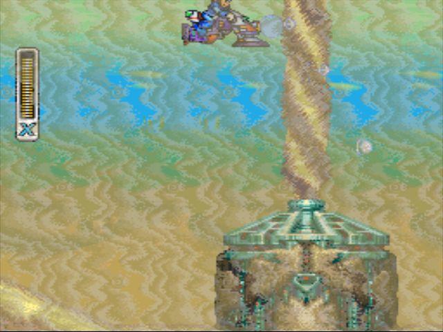 Mega Man X2 screenshot - Overdrive Ostrich