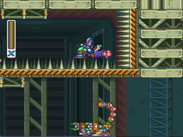 Mega Man X2 screenshot - Overdrive Ostrich