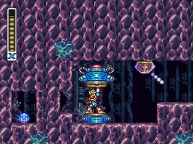 Mega Man X2 screenshot - Crystal Snail