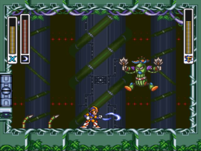 Mega Man X2 screenshot - Wire Sponge