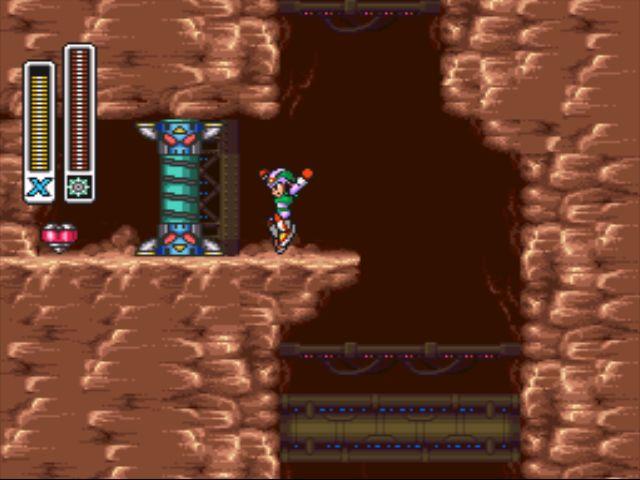 Mega Man X2 screenshot - Flame Stag