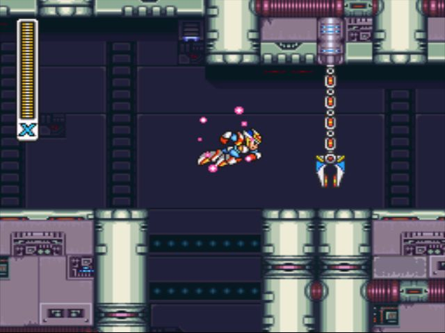 Mega Man X2 screenshot - X-Hunter Stage 1