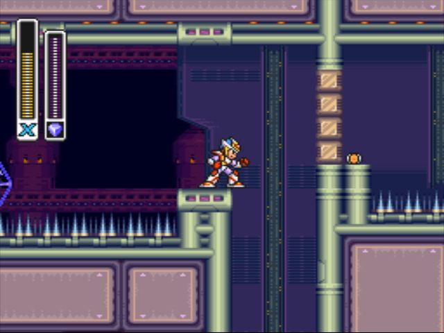 Mega Man X2 screenshot - X-Hunter Stage 2