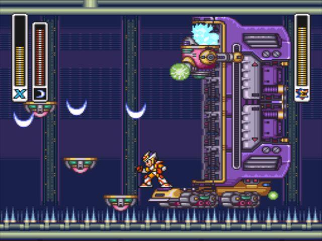 Mega Man X2 screenshot - X-Hunter Stage 2