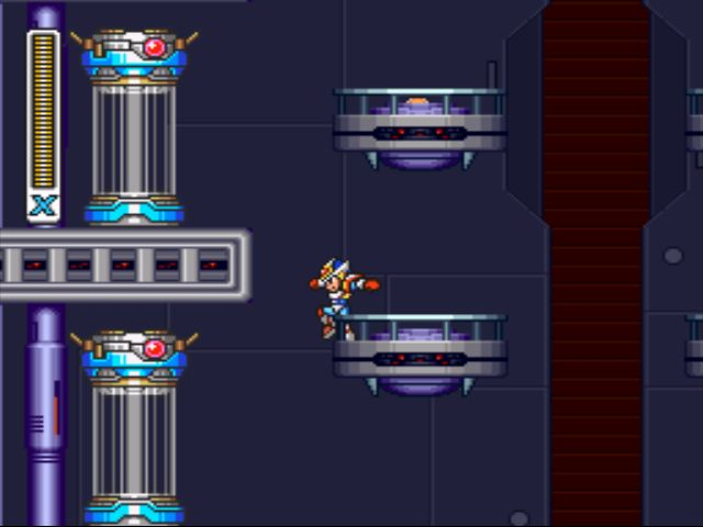Mega Man X2 screenshot - X-Hunter Stage 4