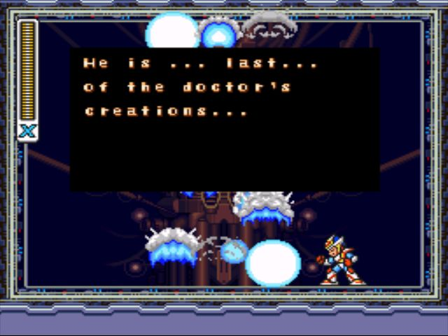 Mega Man X2 screenshot - X-Hunter Stage 5