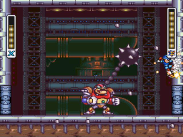 Mega Man X2 screenshot - X-Hunter Strategies