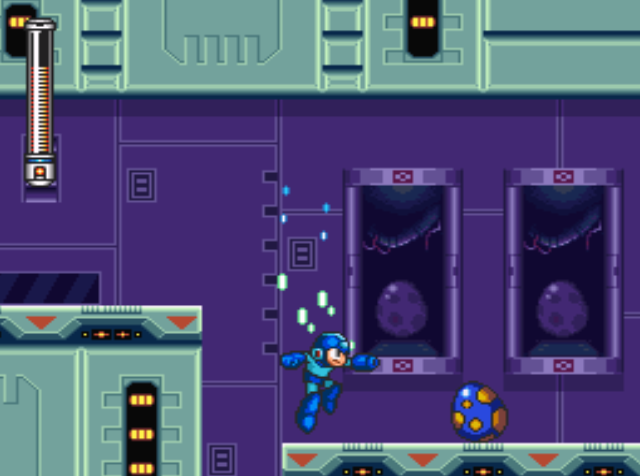 Mega Man 7 screenshot - Slash Man