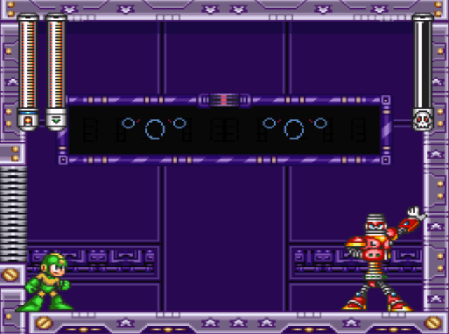 Mega Man 7 screenshot - Spring Man