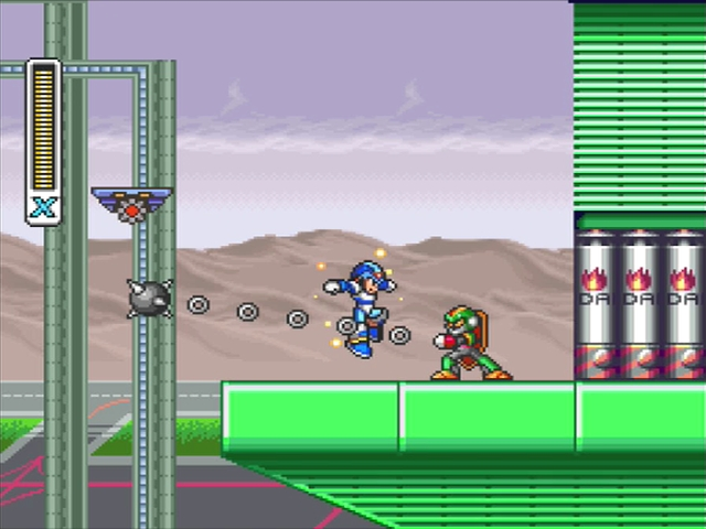 Mega Man X screenshot - Storm Eagle