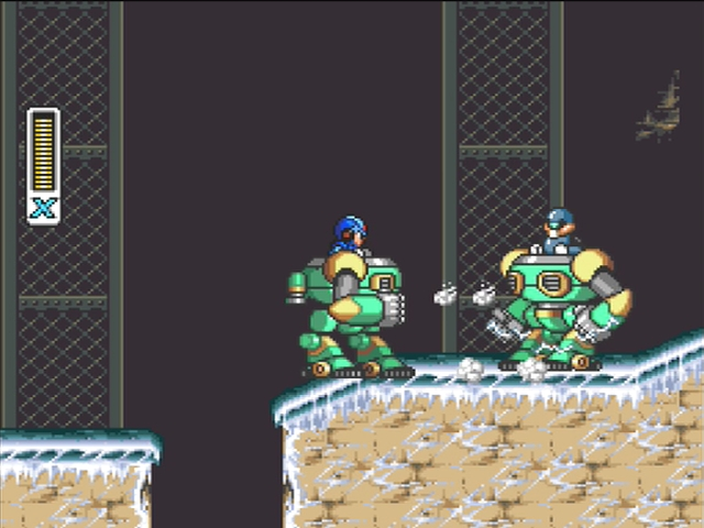 Mega Man X screenshot - Chill Penguin
