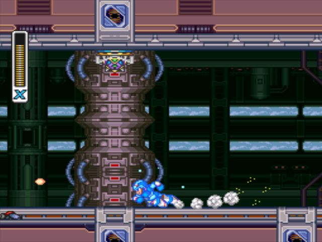 Mega Man X3 screenshot - Volt Catfish