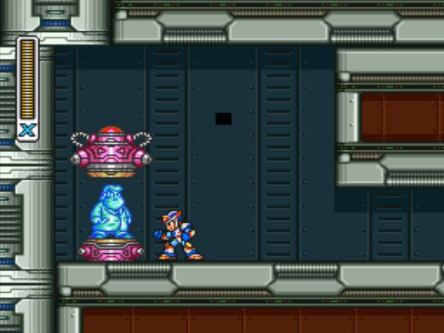 Mega Man X3 screenshot - Crush Crawfish