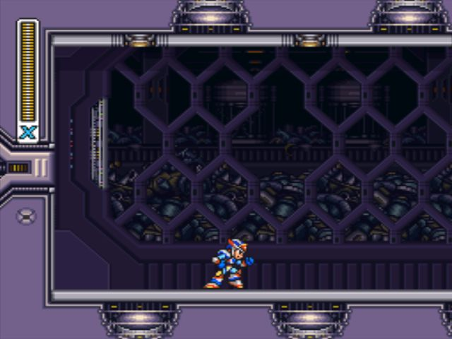 Mega Man X3 screenshot - Doppler Stage 1