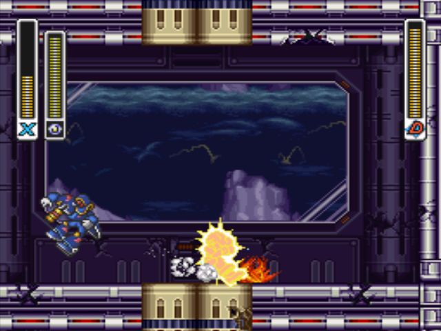 Mega Man X3 screenshot - Doppler Stage 2