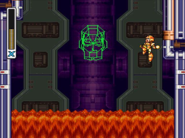 Mega Man X3 screenshot - Doppler Stage 4