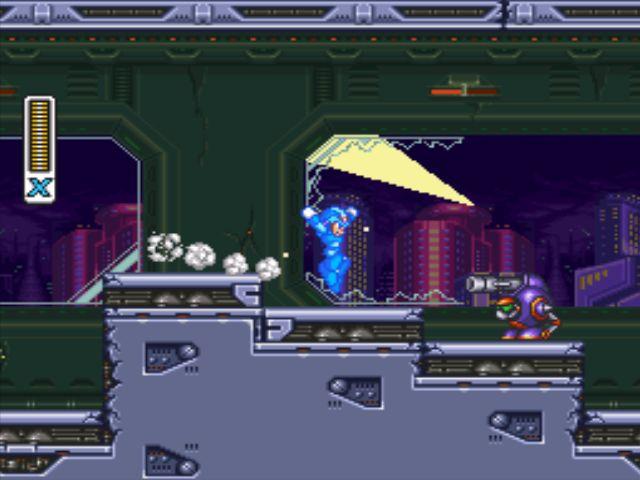 Mega Man X3 screenshot - Intro Stage