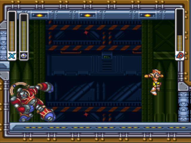 Mega Man X3 screenshot - Nightmare Police