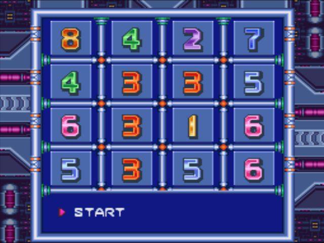 Mega Man X3 screenshot - Passwords