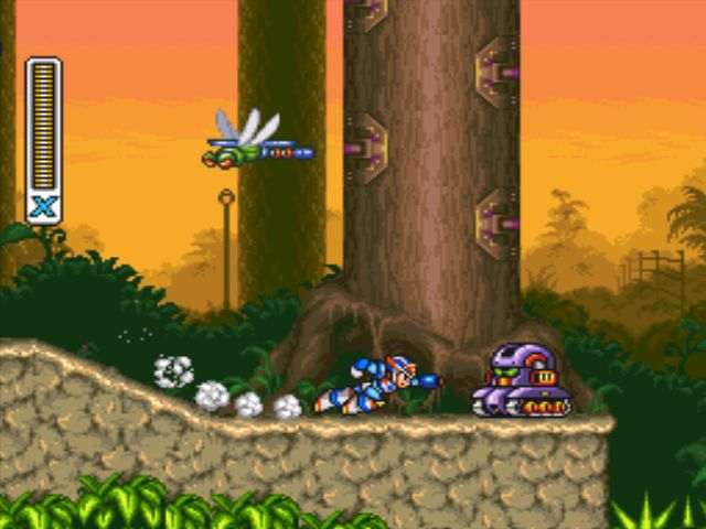 Mega Man X3 screenshot - Neon Tiger