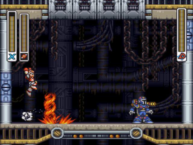 Mega Man X3 screenshot - Vile