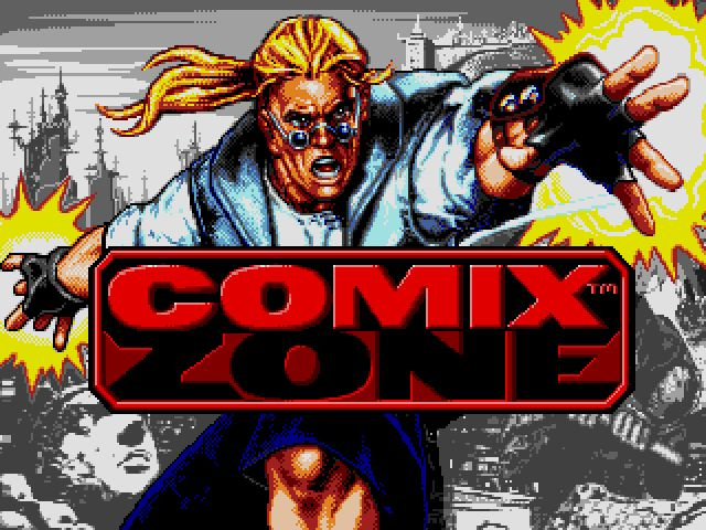 Comix Zone screenshot - Basics