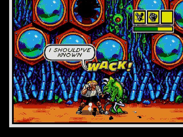 Comix Zone screenshot - Episode 1: Night of the Mutants – Page 2