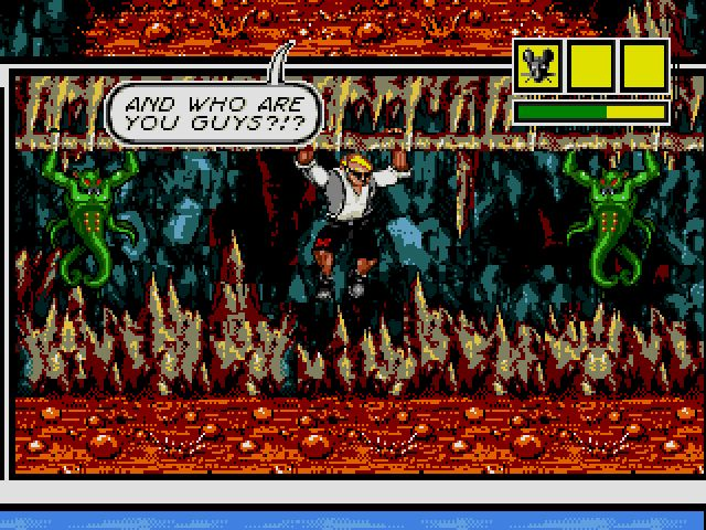 Comix Zone screenshot - Episode 3: Curse of the Dead Ships – Page 1