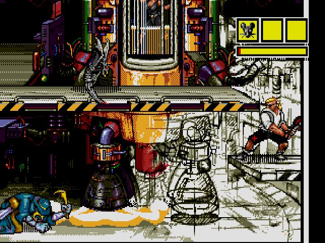 Comix Zone screenshot - Episode 3: Curse of the Dead Ships – Page 2