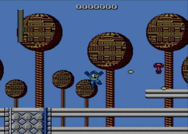 Mega Man screenshot - Bomb Man