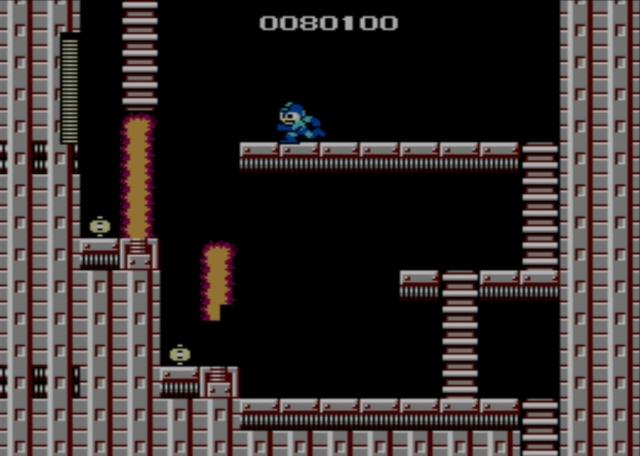 Mega Man screenshot - Fire Man