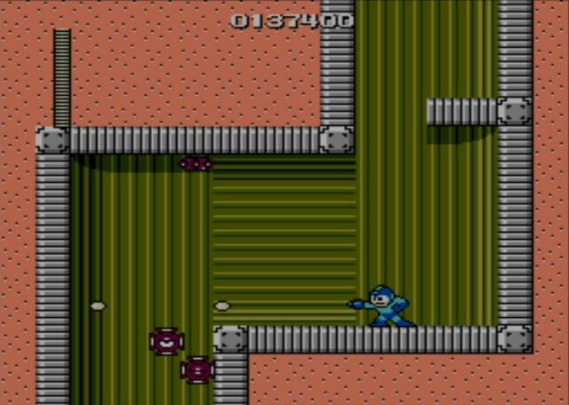 Mega Man screenshot - Stage Three