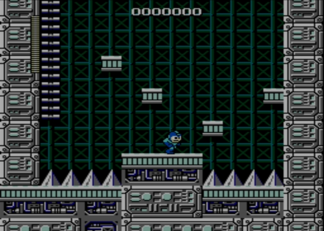 Mega Man screenshot - Stage Four