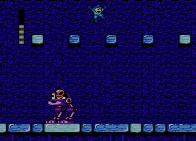 Mega Man 2 screenshot - Flash Man