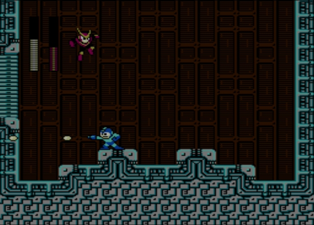 Mega Man 2 screenshot - Quick Man